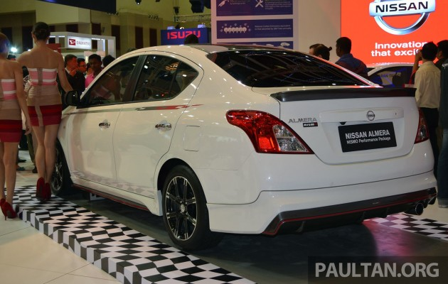 Nissan Almera Nismo Performance Package launched at KLIMS 2013