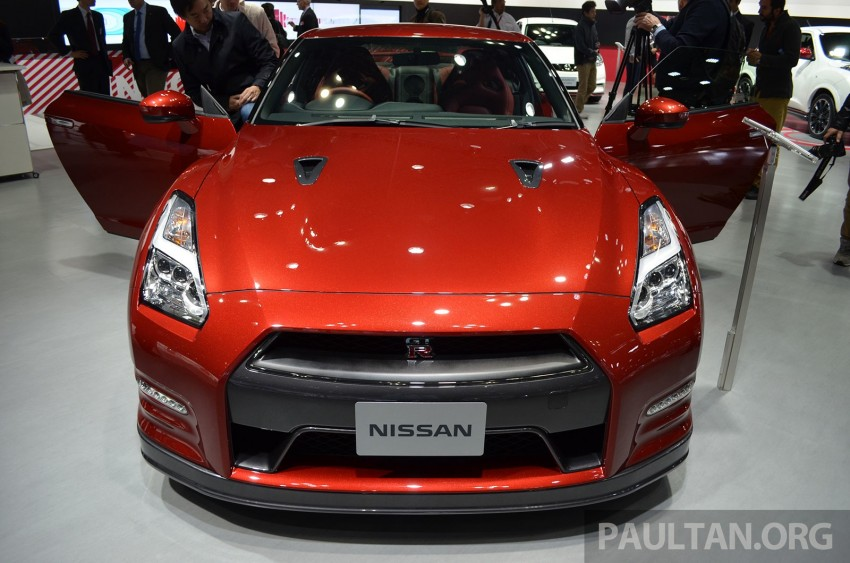 2014 Nissan GT-R facelift unveiled in Tokyo with updated suspension and looks Image #212437