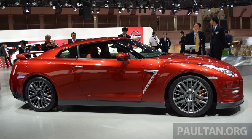 2014 Nissan GT-R facelift unveiled in Tokyo with updated suspension and looks Image #212438