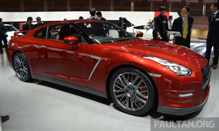 2014 Nissan GT-R facelift unveiled in Tokyo with updated suspension and looks Image #212439