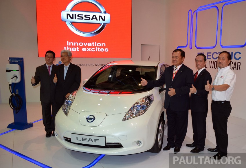 Nissan Leaf launched at KLIMS13, EV goes for RM169k Image #209751