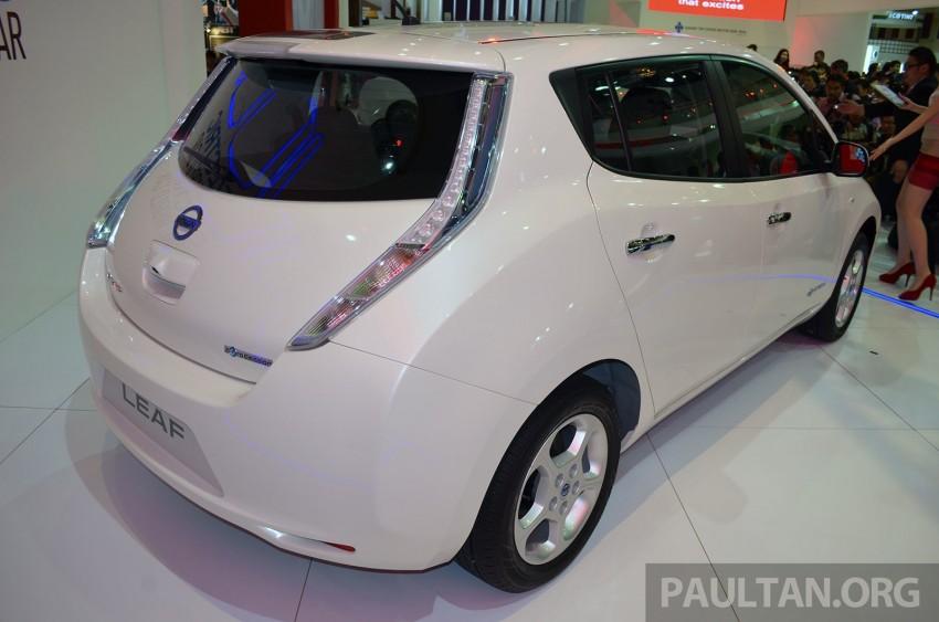 Nissan Leaf launched at KLIMS13, EV goes for RM169k Image #209753