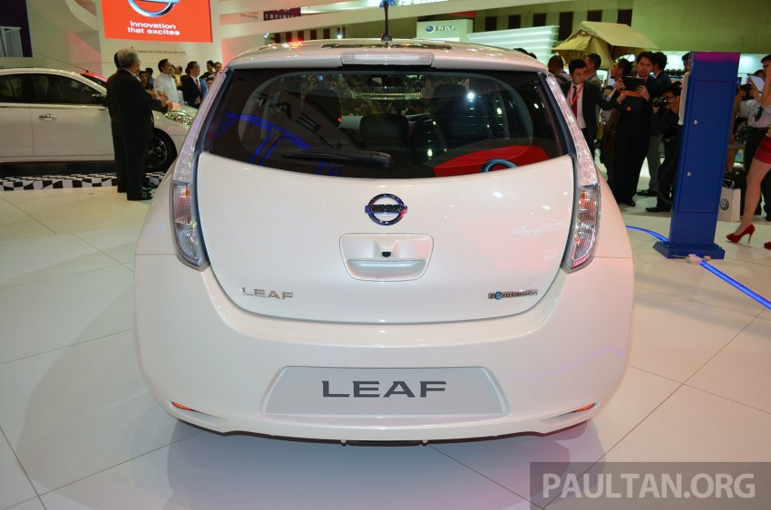 Nissan Leaf launched at KLIMS13, EV goes for RM169k Image #209754