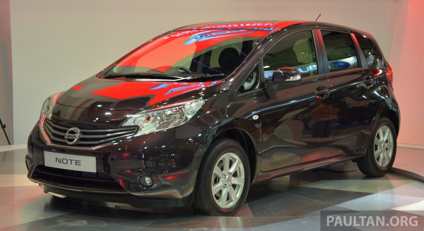 Nissan Note mini-MPV seen at KLIMS, coming soon? Image #210288