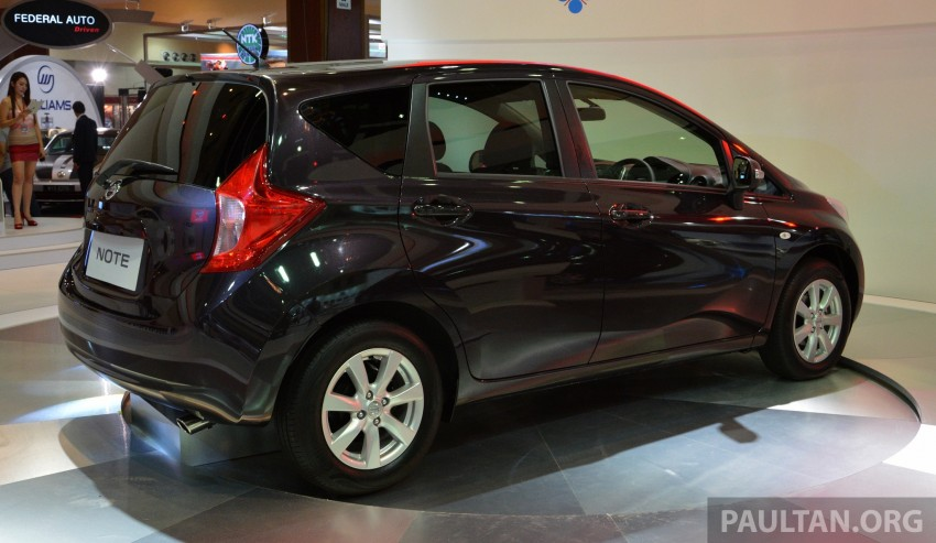 Nissan Note mini-MPV seen at KLIMS, coming soon? Image #210289