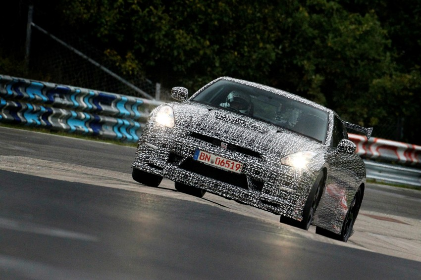Nissan GT-R Nismo debuts – 600 hp, 7:08 'Ring time Image #211716