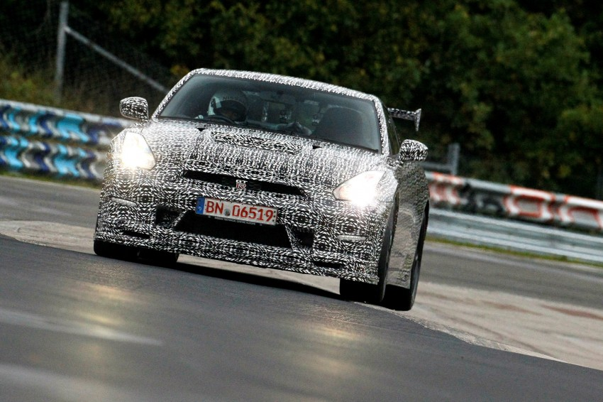 Nissan GT-R Nismo debuts – 600 hp, 7:08 'Ring time Image #211717