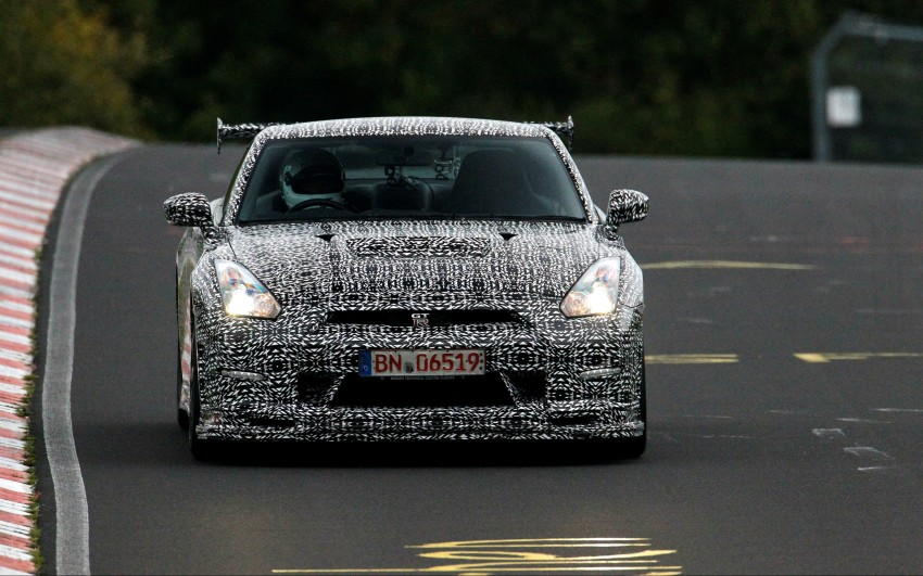 Nissan GT-R Nismo debuts – 600 hp, 7:08 'Ring time Image #211719