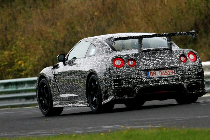 Nissan GT-R Nismo debuts – 600 hp, 7:08 'Ring time Image #211721
