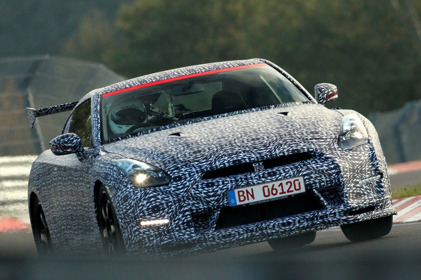 Nissan GT-R Nismo debuts – 600 hp, 7:08 'Ring time Image #211723