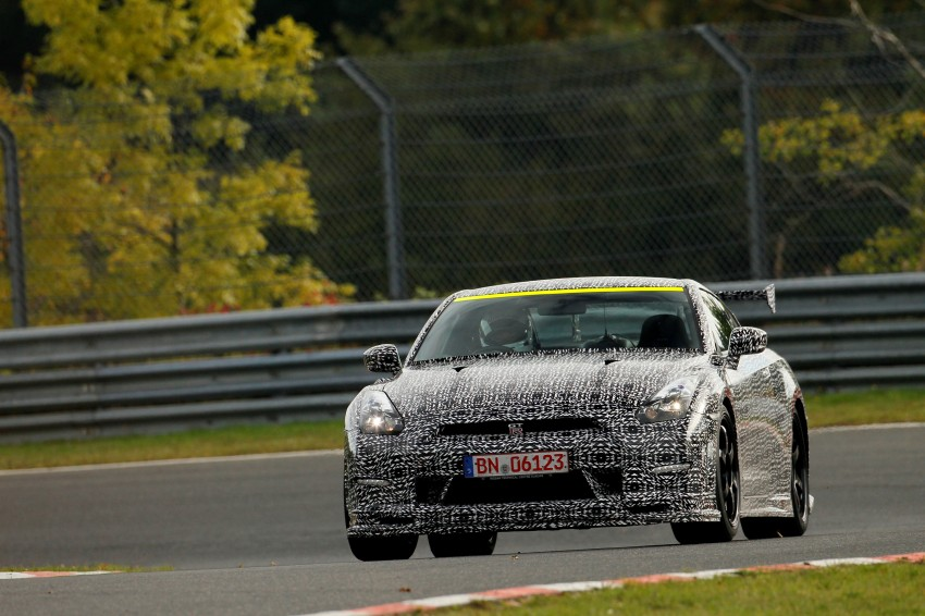 Nissan GT-R Nismo debuts – 600 hp, 7:08 'Ring time Image #211724