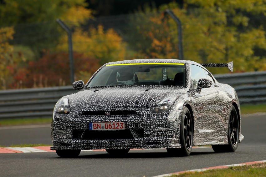 Nissan GT-R Nismo debuts – 600 hp, 7:08 'Ring time Image #211725