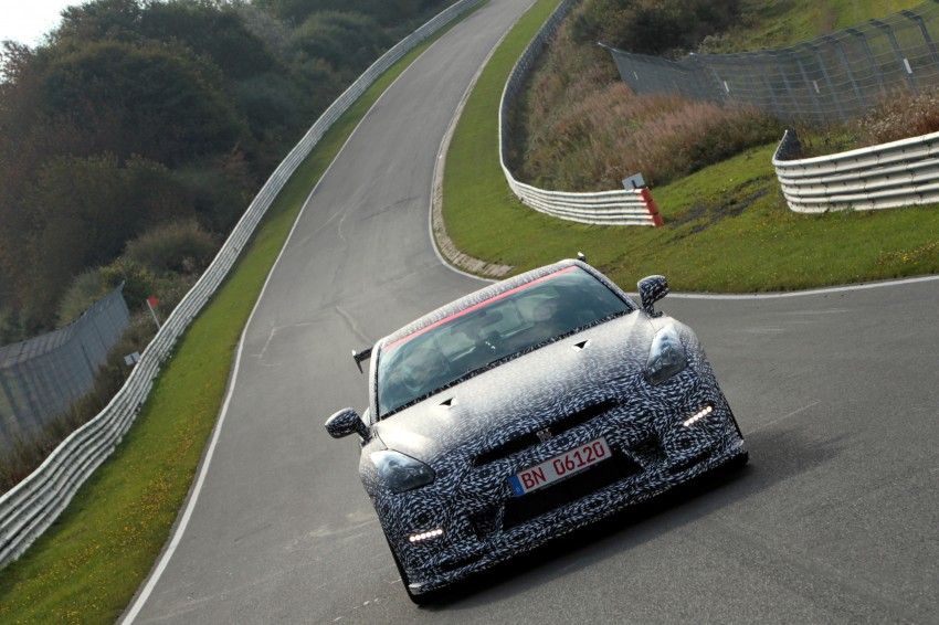 Nissan GT-R Nismo debuts – 600 hp, 7:08 'Ring time Image #211726