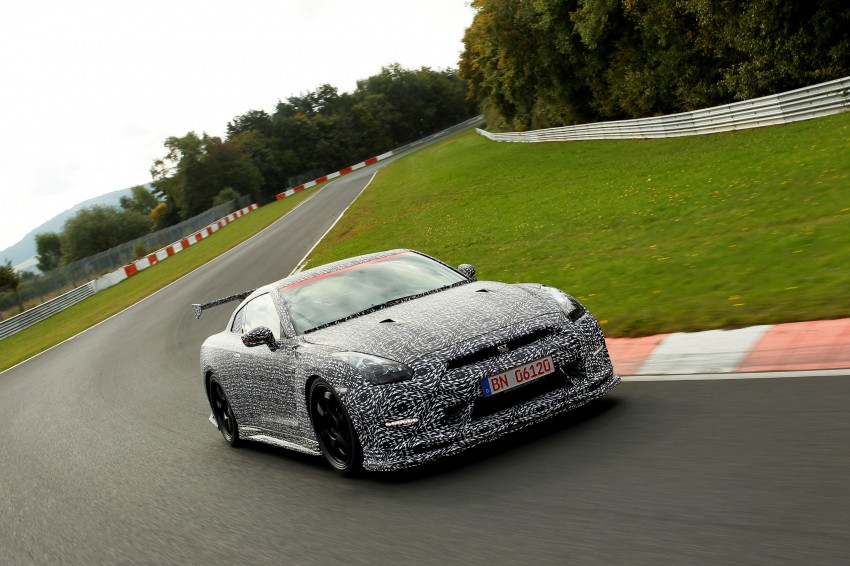 Nissan GT-R Nismo debuts – 600 hp, 7:08 'Ring time Image #211727