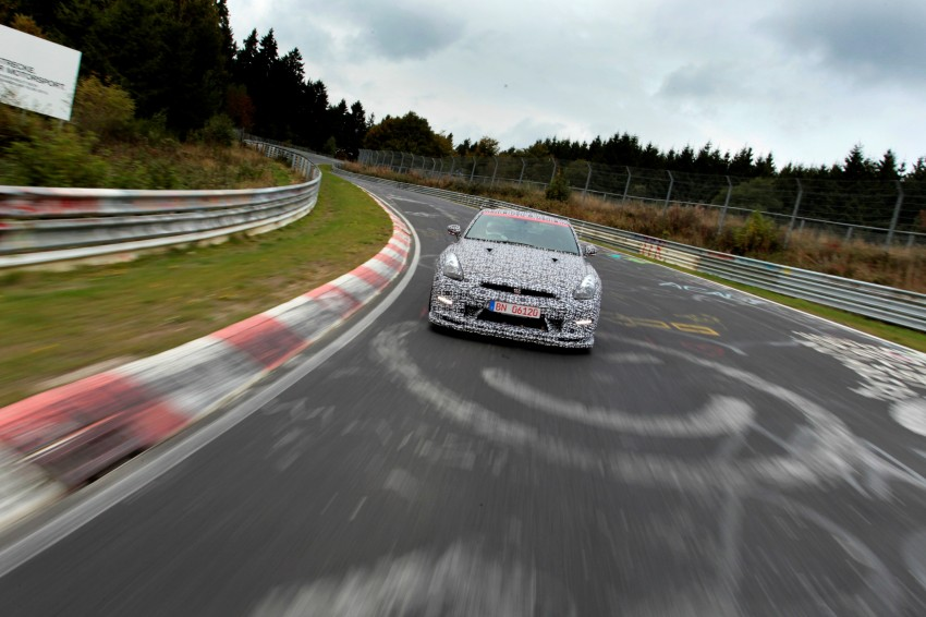 Nissan GT-R Nismo debuts – 600 hp, 7:08 'Ring time Image #211736