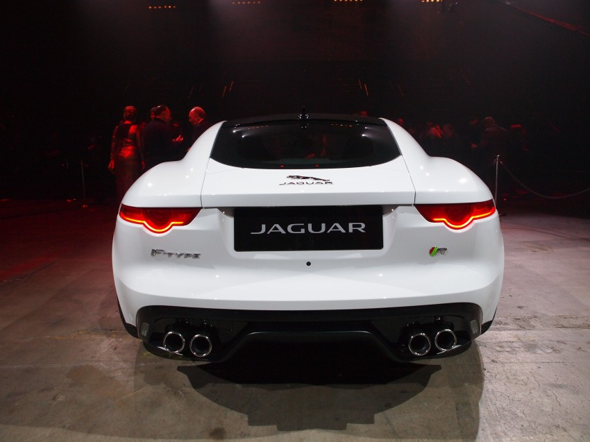 Tokyo 2013: Jaguar F-Type Coupe debuts, gets 550 PS Image #213472