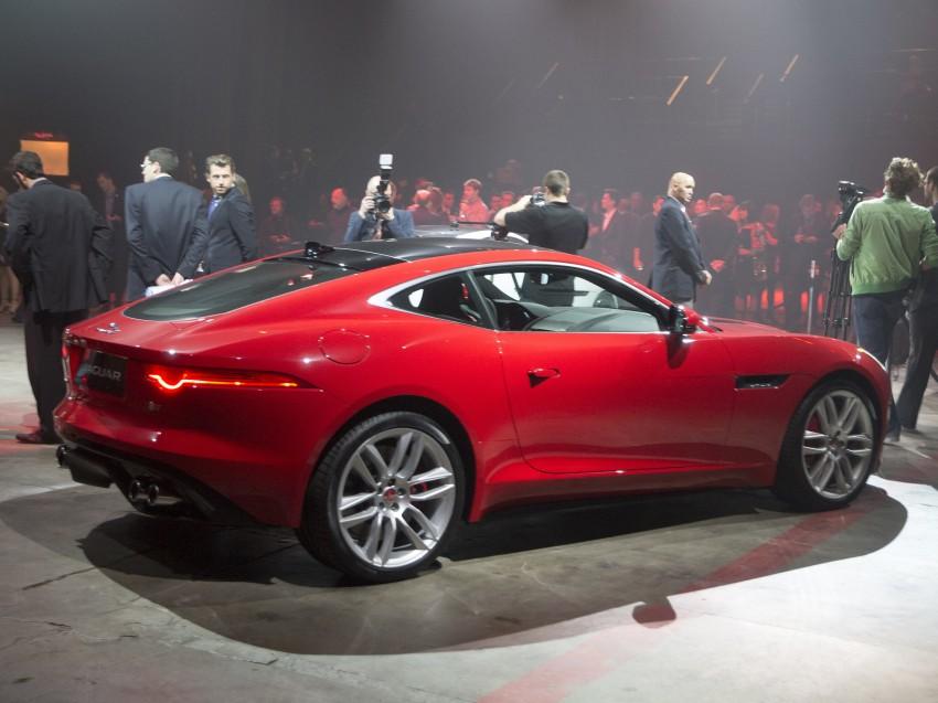Tokyo 2013: Jaguar F-Type Coupe debuts, gets 550 PS Image #213473