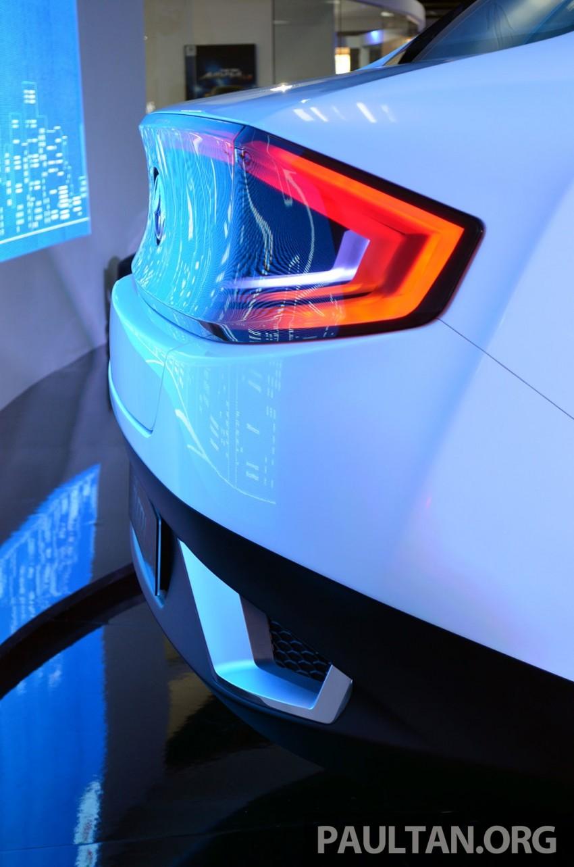 Perodua Buddyz concept sedan debuts at KLIMS13 Image #209769