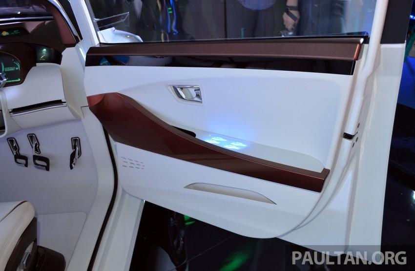 Perodua Buddyz concept sedan debuts at KLIMS13 Image #209772