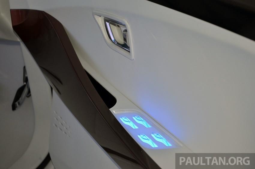 Perodua Buddyz concept sedan debuts at KLIMS13 Image #209774