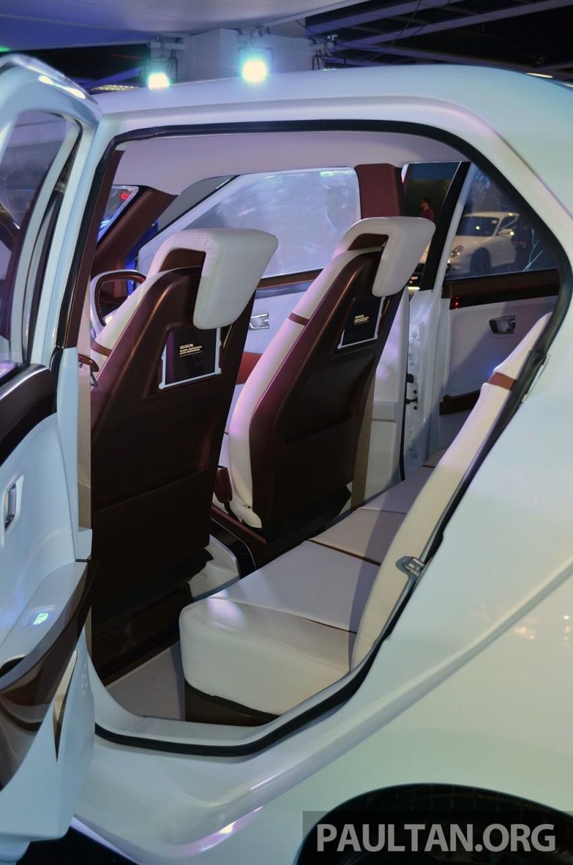Perodua Buddyz concept sedan debuts at KLIMS13 Image #209782