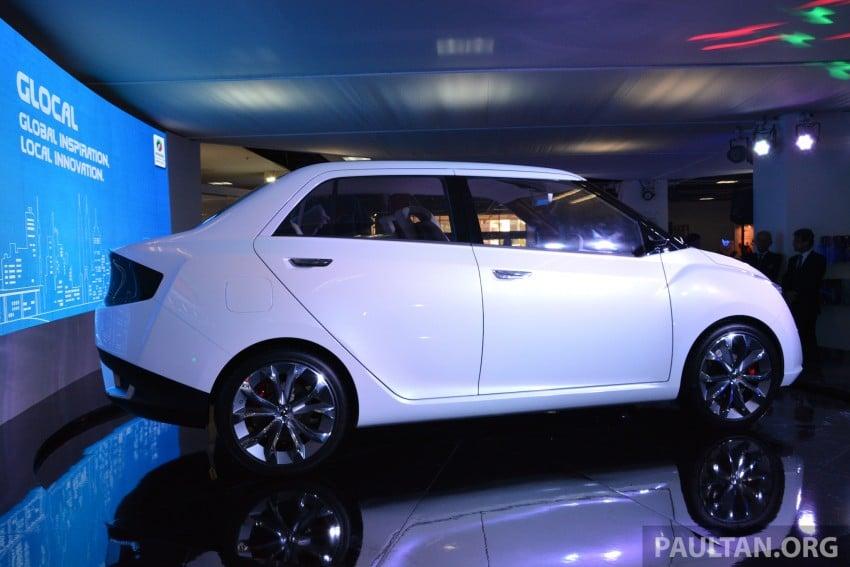Perodua Buddyz concept sedan debuts at KLIMS13 Image #209785