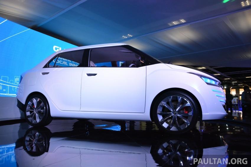 Perodua Buddyz concept sedan debuts at KLIMS13 Image #209788