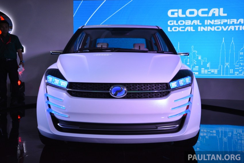 Perodua Buddyz concept sedan debuts at KLIMS13 Image #209789