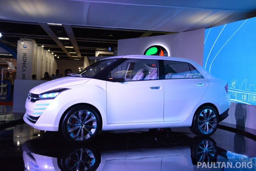 Perodua Buddyz concept sedan debuts at KLIMS13 Image #209792