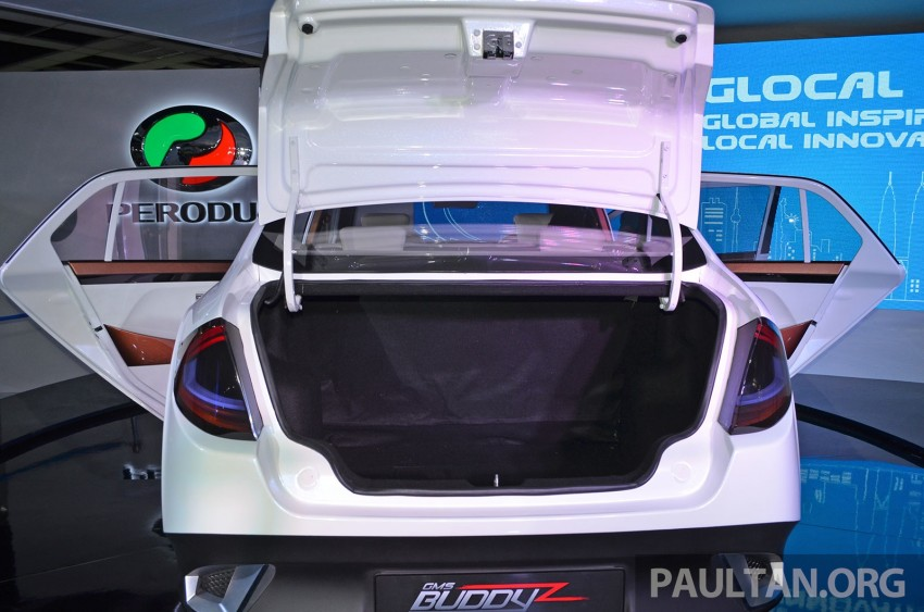 Perodua Buddyz concept sedan debuts at KLIMS13 Image #210055