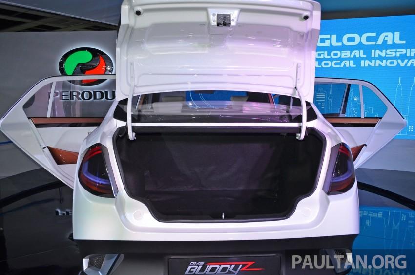 Perodua Buddyz concept sedan debuts at KLIMS13 Image #210055