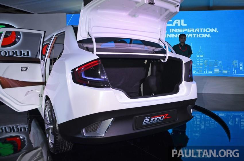 Perodua Buddyz concept sedan debuts at KLIMS13 Image #210056