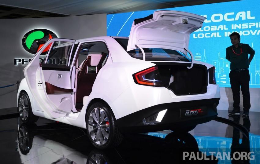 Perodua Buddyz concept sedan debuts at KLIMS13 Image #210057