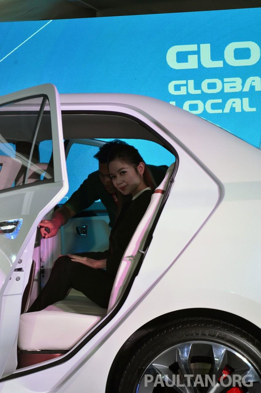 Perodua Buddyz concept sedan debuts at KLIMS13 Image #210058