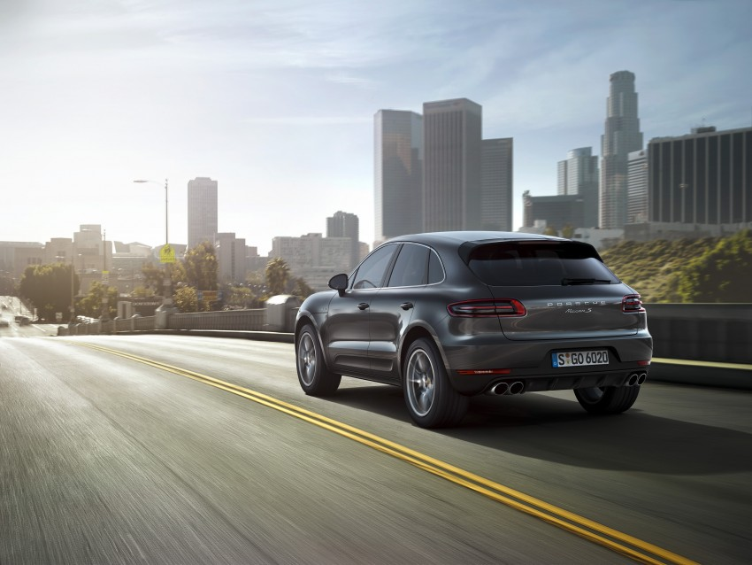 Porsche Macan SUV unveiled in LA with up to 400 hp Image #212148