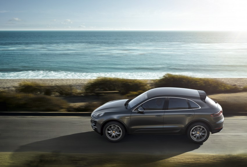 Porsche Macan SUV unveiled in LA with up to 400 hp Image #212149