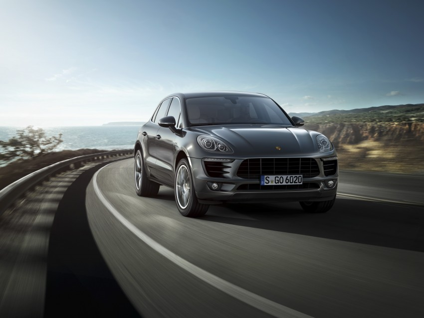 Porsche Macan SUV unveiled in LA with up to 400 hp Image #212150