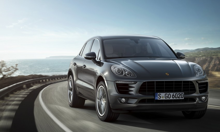 Porsche Macan SUV unveiled in LA with up to 400 hp Image #212328