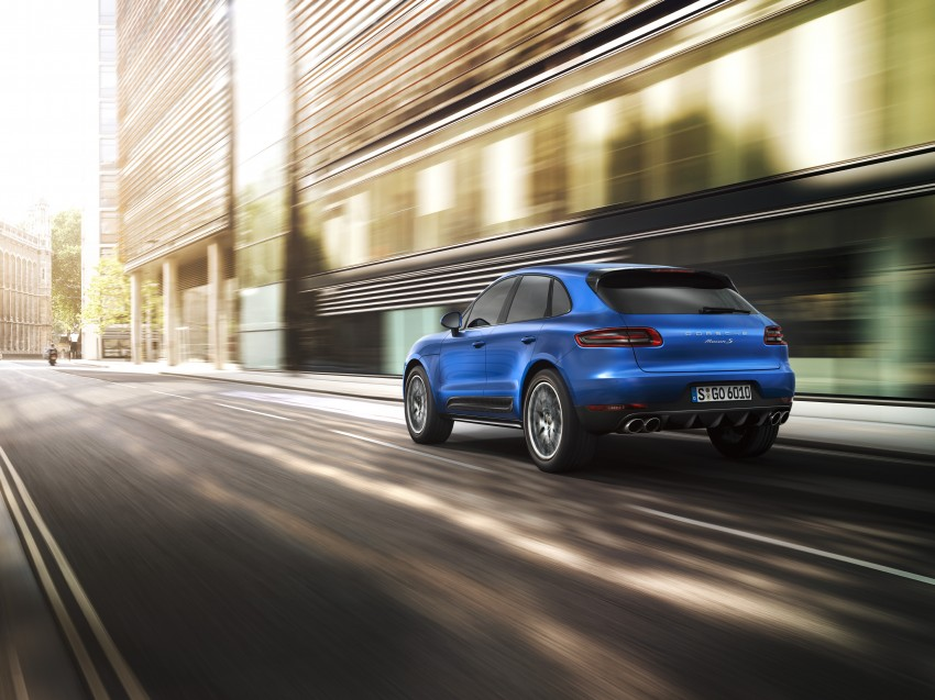 Porsche Macan SUV unveiled in LA with up to 400 hp Image #212151