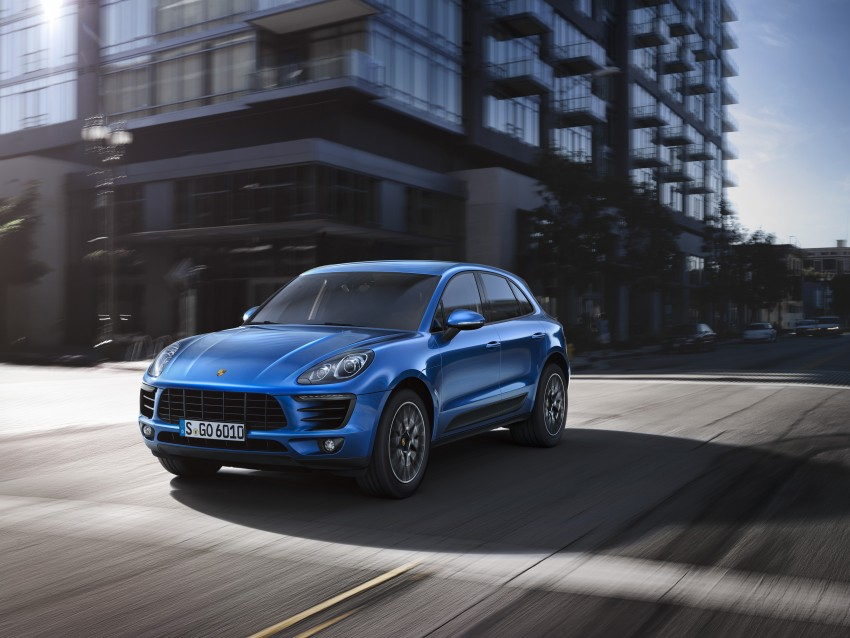 Porsche Macan SUV unveiled in LA with up to 400 hp Image #212152