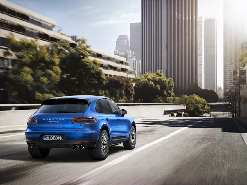 Porsche Macan SUV unveiled in LA with up to 400 hp Image #212153