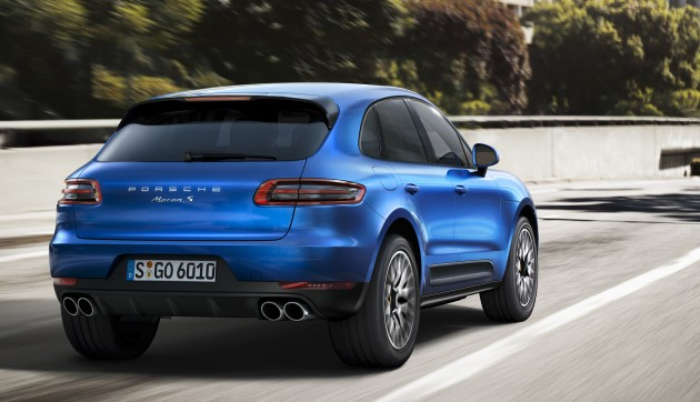 Porsche Macan Suv Unveiled In La With Up To 400 Hp
