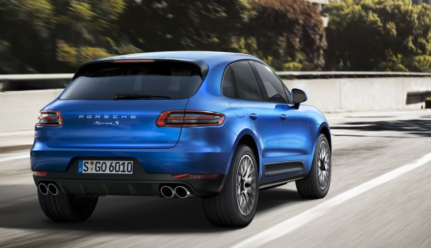 Porsche Macan SUV unveiled in LA with up to 400 hp Image #212326