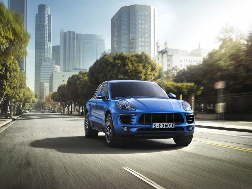 Porsche Macan SUV unveiled in LA with up to 400 hp Image #212154