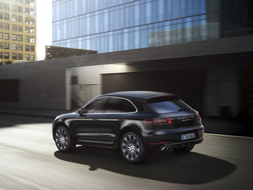 Porsche Macan SUV unveiled in LA with up to 400 hp Image #212156