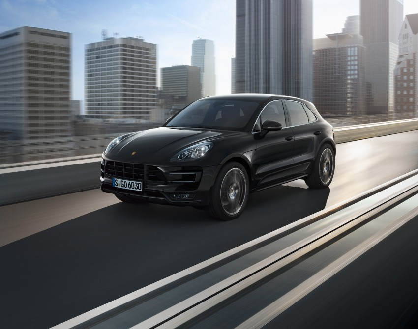 Porsche Macan SUV unveiled in LA with up to 400 hp Image #212158