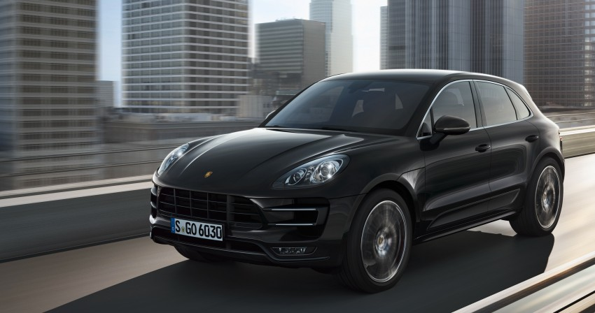 Porsche Macan SUV unveiled in LA with up to 400 hp Image #212327