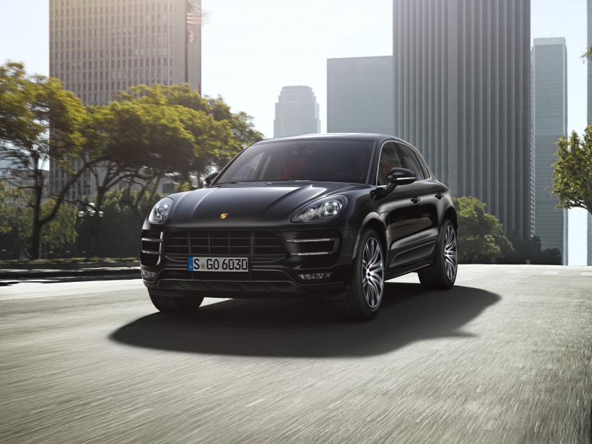 Porsche Macan SUV unveiled in LA with up to 400 hp Image #212159