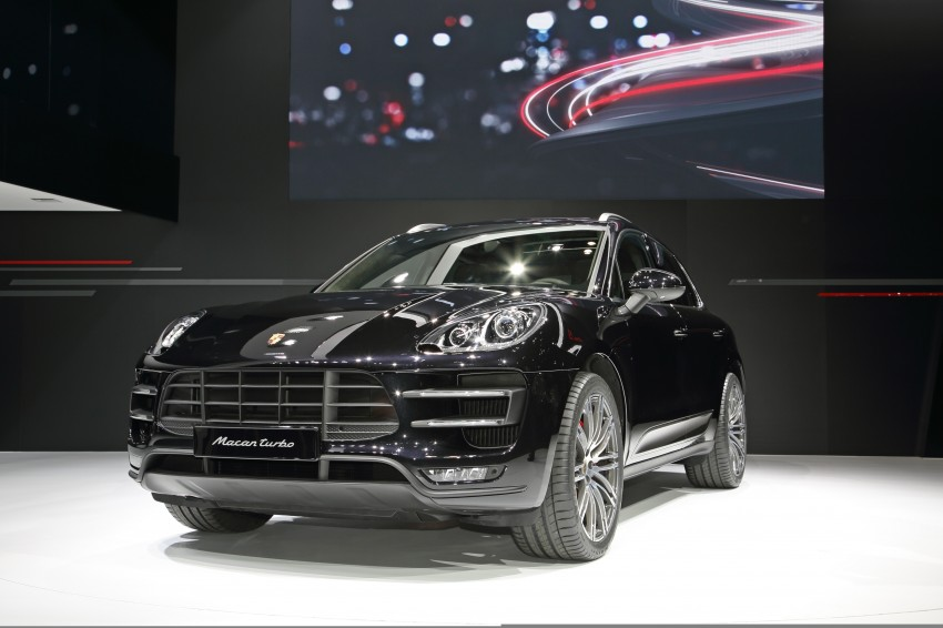 Porsche Macan SUV unveiled in LA with up to 400 hp Image #212471
