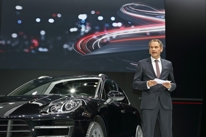 Porsche Macan SUV unveiled in LA with up to 400 hp Image #212467